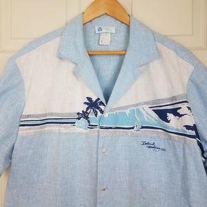 Vintage Hawaiian Shirt Island Feeling